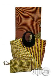 Fabricated Ankara Bags With 6yards Wax & Purse All Imported Iii   Bags for sale in Ebonyi State, Abakaliki