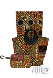 Fabricated Ankara Bags With 6yards Wax Purse All Imported IV   Bags for sale in Ebonyi State, Abakaliki
