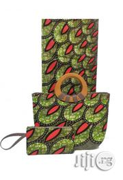 Fabricated Ankara Bags With 6yards Wax Purse All Imported V   Bags for sale in Ebonyi State, Abakaliki