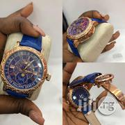 Classic Carraebbean Patek Phillipe Wristwatch With Strap Leather | Watches for sale in Lagos State, Lagos Island