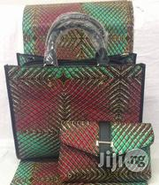 High Fabric 6yards Wax and Ankara Bag With Purse Imported Vii | Bags for sale in Imo State, Oguta