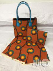 High Fabric 6yards Wax and Ankara Bag With Purse Imported Viii | Bags for sale in Imo State, Oguta
