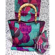 High Fabric 6yards Wax and Ankara Bag With Purse Imported Ix | Bags for sale in Imo State, Oguta