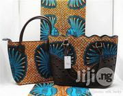 Fabricated Ankara Bags With 6yards Wax Purse All Imported Xii | Bags for sale in Kano State, Dala