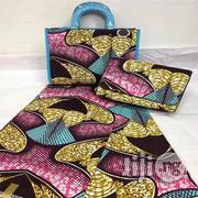 Fabricated Ankara Bags With 6yards Wax & Purse All Imported Xvi | Bags for sale in Katsina State, Katsina