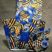Fabricated Ankara Bags With 6yards Wax & Purse All Imported Xviii | Bags for sale in Katsina State, Katsina