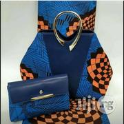 Fabricated Ankara Bags With 6yards Wax & Purse All Imported Xix | Bags for sale in Katsina State, Katsina