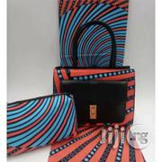 Fabricated Ankara Bags With 6yards Wax & Purse All Imported Xx | Bags for sale in Katsina State, Katsina