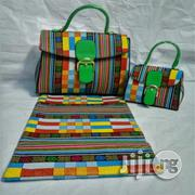 Beautiful Imported Ankara Bag With 6yards Wax And Purse Xix   Bags for sale in Kebbi State, Birnin Kebbi