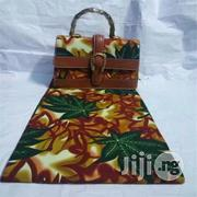 Beautiful Imported Ankara Bag With 6yards Wax and Purse Xxi   Bags for sale in Kebbi State, Birnin Kebbi