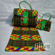 Beautiful Imported Ankara Bag With 6yards Wax And Purse Xxii   Bags for sale in Kebbi State, Birnin Kebbi