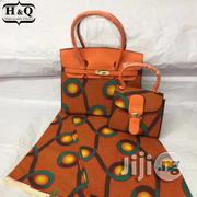 Beautiful Imported Ankara Bag With 6yards Wax And Purse Xxiv   Bags for sale in Kebbi State, Birnin Kebbi