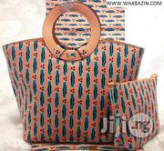 Beautiful Imported Ankara Bag With 6yards Wax and Purse Xxv   Bags for sale in Kebbi State, Birnin Kebbi