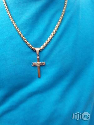 Generic Neck Chain and Cross Pendant