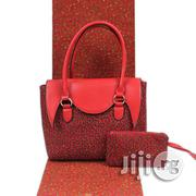 Imported Fabric Made Bags With 6yards Wax and Purse X | Bags for sale in Oyo State, Ibadan