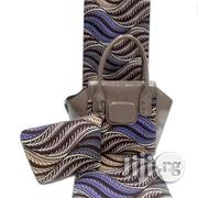 Imported Fabric Made Bags With 6yards Wax And Purse Xi | Bags for sale in Plateau State, Jos