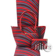 Imported Fabric Made Bags With 6yards Wax And Purse Xiv | Bags for sale in Plateau State, Jos