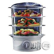 Russell Hobbs Versatile Three-Tier Fish and Vegetables Turbo Steamer - 9 Litre, 800W | Kitchen Appliances for sale in Abuja (FCT) State, Maitama