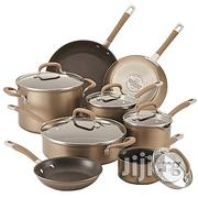 Circulon Premier Professional Hard-Anodize 13 Piece Cookware Set With Bronze Exterior  | Kitchen & Dining for sale in Abuja (FCT) State, Wuse 2