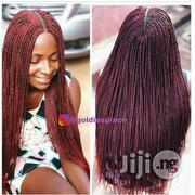 Center Parting Braided Wig | Hair Beauty for sale in Lagos State, Ikotun/Igando