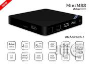 Mini M8S II Amlogic S905X Android TV Box / Media Player | TV & DVD Equipment for sale in Oyo State, Ogbomosho North