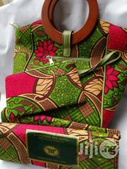 Get Imported Ankara Bags With 6yards Wax Purse Ii | Bags for sale in Edo State, Benin City