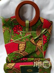 Get Imported Ankara Bags With 6yards Wax & Purse IV | Bags for sale in Edo State, Benin City