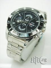 32GB HD Video Camera Spy Watch - Silver | Security & Surveillance for sale in Lagos State, Alimosho