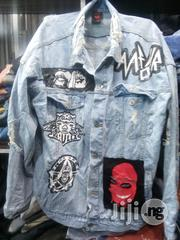 Design Jeans Jacket Clothing | Clothing for sale in Lagos State, Lagos Island