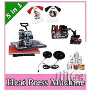 Combo Multi Functional Heat Transfer Press Machine . | Printing Equipment for sale in Lagos State, Victoria Island