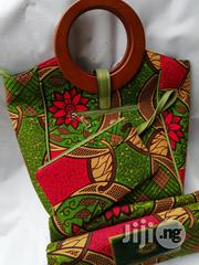 Ankara Bag With 6 Yards Wax and Purse Imported Here | Bags for sale in Imo State, Owerri
