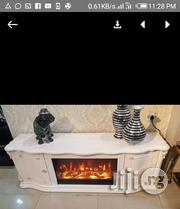 Chargable Fire Burning L.E.D Tv Stand. | TV & DVD Equipment for sale in Lagos State, Lekki Phase 1