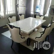 Quality Marble Dining Table With 6chairs | Furniture for sale in Rivers State, Port-Harcourt