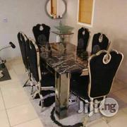 Quality Marble Dinning Table and 6 Six Chairs | Furniture for sale in Rivers State, Port-Harcourt