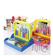 Generic Kiddies Educational Learning Abacus - Yellow and Blue | Toys for sale in Abuja (FCT) State, Maitama