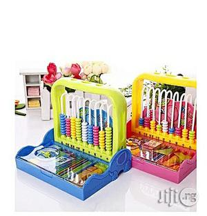 Generic Kiddies Educational Learning Abacus - Yellow and Blue