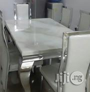 Marble Dining Table by 6 | Furniture for sale in Abuja (FCT) State, Nyanya