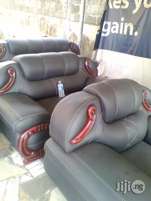 Cushions And Offostry Chairs ( Furniture ) For Sale At Ago Palace Way Lagos Nigeria.
