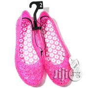 Girls Flat Pink Jelly Shoes - US 1, 2, 4   Babies & Kids Accessories for sale in Lagos State, Surulere