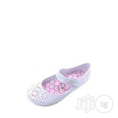 Girls Flat Mary Jane Jelly Shoes - US 9, 10