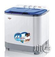 QASA 8.8kg Double Tub Semi-automatic Washing Machine (5kg Wash, 3.8kg Spin) | Home Appliances for sale in Abuja (FCT) State, Garki 1