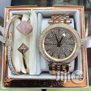 Main Complete Micheal Kors Full Set Wrist-Watch With Bracelet and Handchain | Jewelry for sale in Lagos State, Lagos Island
