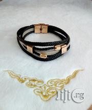 Leather/Chain Bracelet for Men's | Jewelry for sale in Lagos State, Lagos Island