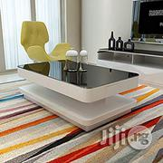 Design Modern High Gloss White Coffee Table | Furniture for sale in Lagos State, Ipaja