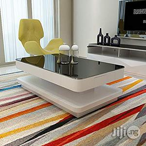 Design Modern High Gloss White Coffee Table