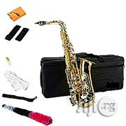 Premier England Alto Saxophone With Accessories - Gold | Musical Instruments & Gear for sale in Oyo State, Ibadan