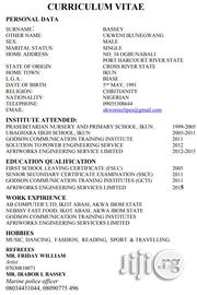 Electrical Engineering   Engineering & Architecture CVs for sale in Cross River State, Biase