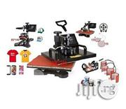 Generic Heat Press Transfer Machine, 8 In 1 Model | Printing Equipment for sale in Abuja (FCT) State, Gwarinpa