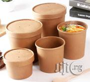 Kraft Paper Soup Bowl With Lid | Kitchen & Dining for sale in Lagos State, Surulere