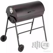 Generic Charcoal Oil Drum BBQ - Cover, Utensils & Adjustable Grill | Kitchen Appliances for sale in Abuja (FCT) State, Central Business District